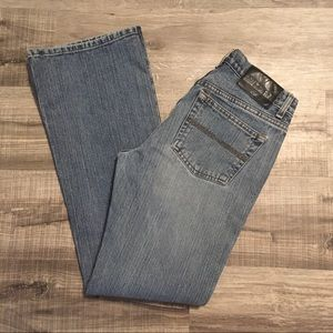 Express vtg. Low rise flare jeans. Size 5/6 long